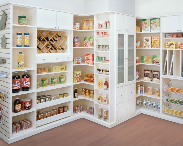 Kitchen Pantry Closets And Cabinets, Pantry Closet Organizers