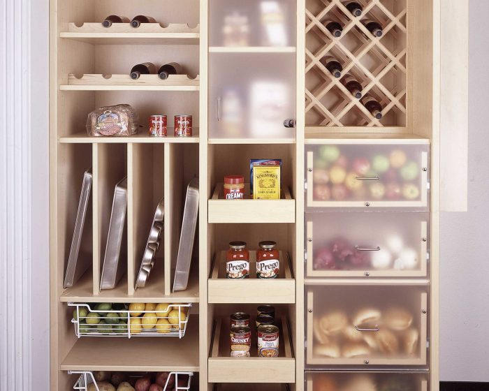 Kitchen Pantry Closets And Cabinets Pantry Closet Organizers