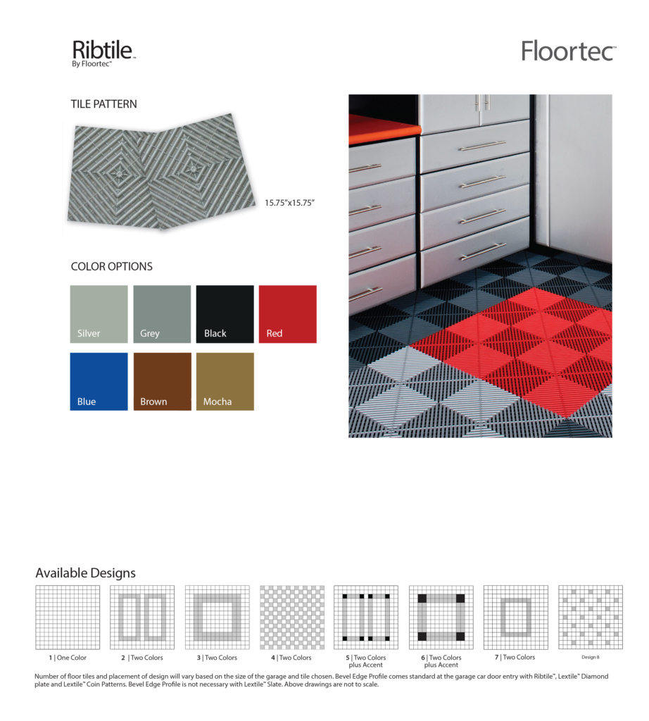 Floortec Ribtile