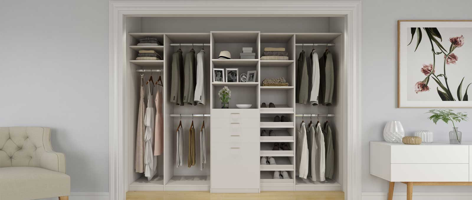closet organizers for small bedroom closets custom bedroom closets and closet systems closet world 20412